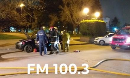 BOMBEROS REALIZÓ UN SIMULACRO EN LA NOCHE DE AYER
