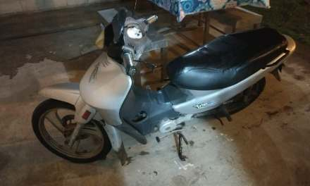 Apareció la moto robada