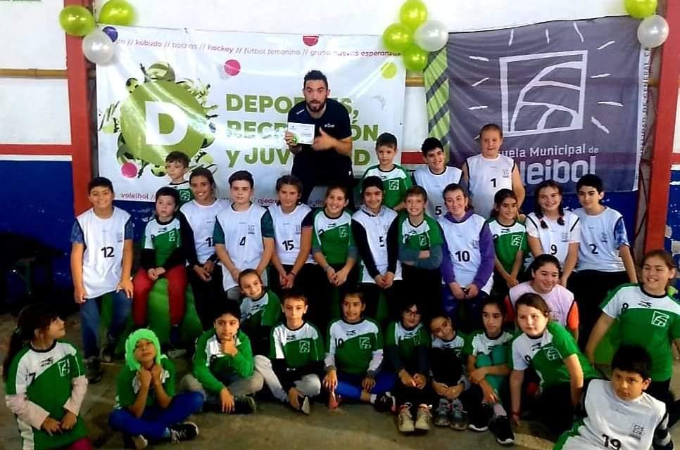 Primer encuentro Regional de Mini Voleibol