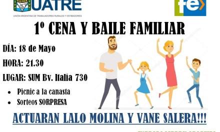 NUEVO SERVICIO PARA AFILIADOS A UATRE Y 1° CENA-BAILE FAMILIAR