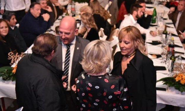 Jimena Montaverde en la cena Gourmet de Sabores del Maní
