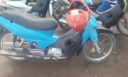Secuestro de moto