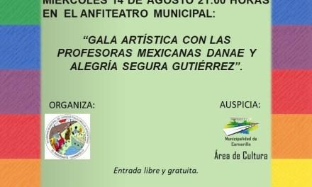 Carnerillo: Gala artística, embajada mexicana