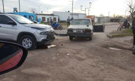 Siniestro vial en Barrio Argentino