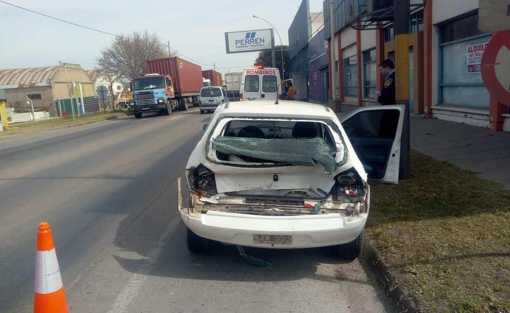 Gral.Deheza:Accidente de tránsito