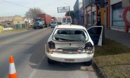 Gral.Deheza:Accidente de tránsito