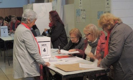 Elecciones en UEPC – En Cabrera la mesa de votación está en la escuela Emilio F. Olmos
