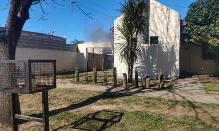 Deheza: Incendio en una vivienda