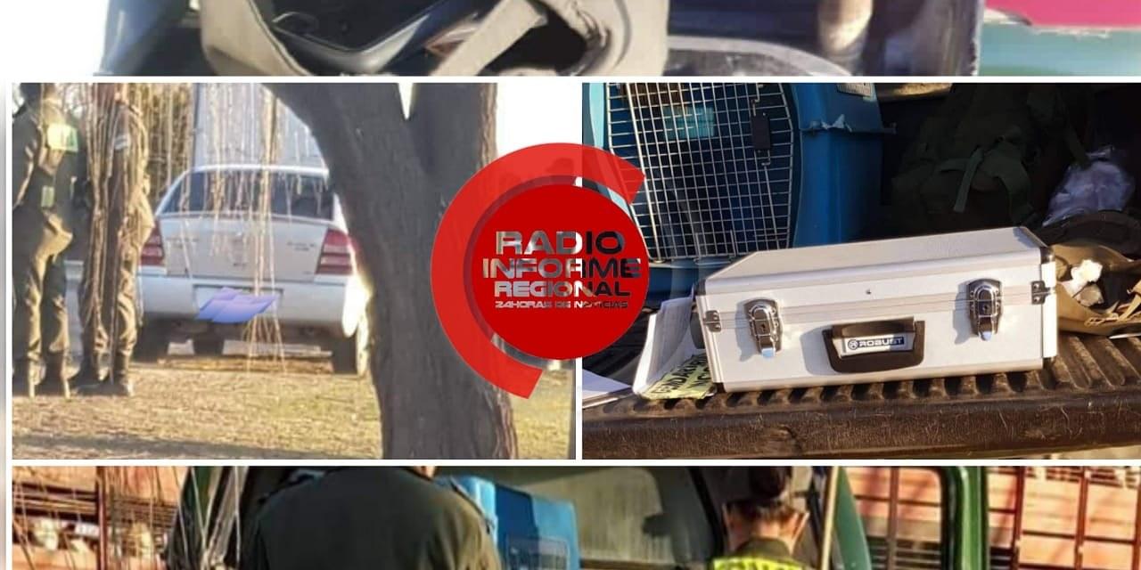 Deheza: Detuvieron a dos personas en un operativo de Gendarmería
