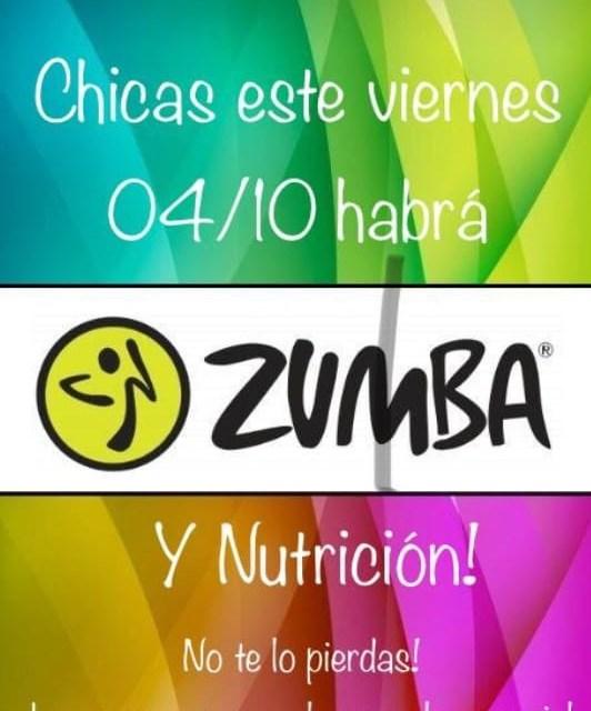 Zumba y charla de Nutrición en la escuela especial Jerónimo Luis de Cabrera