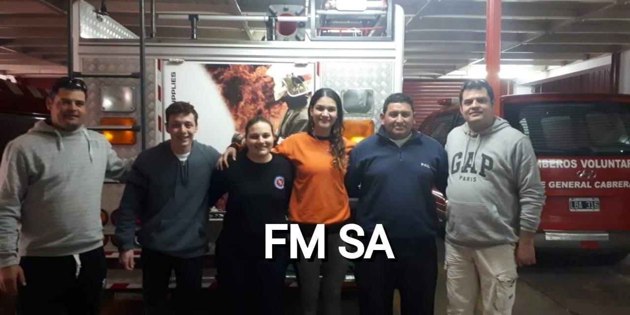 Bomberos Brigadistas de Cabrera en el Encuentro Nacional de Mendoza