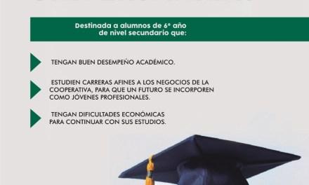 Cotagro entrega BECAS para nivel secundario y universitario