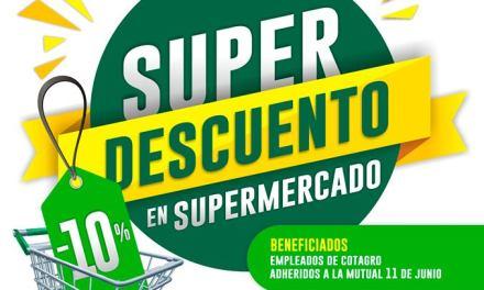 Se extendió hasta diciembre la promo de «Súper Descuento» en Cotagro