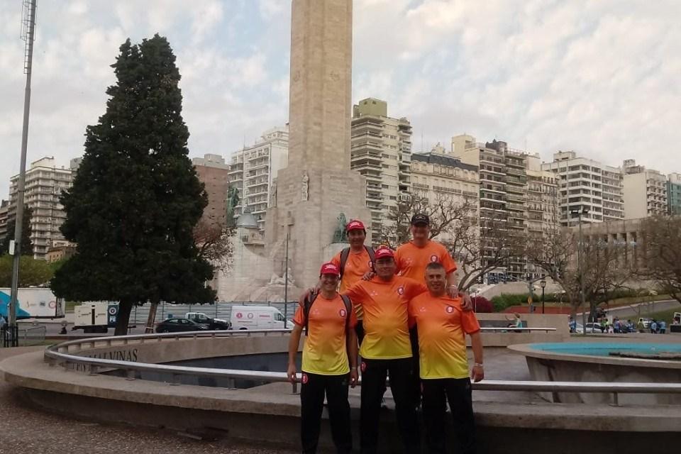 Bomberos en el Desafío Nacional en Rosario