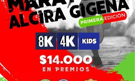 Maratón en Alcira Gigena