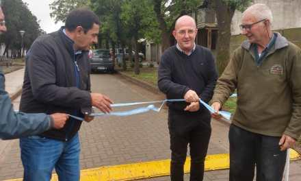 Se inauguró el pasaje Olca