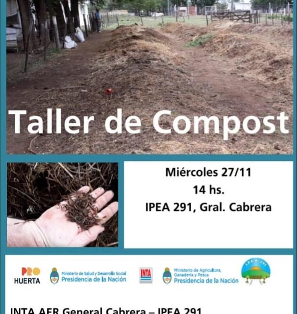IPEA 291: Actividad recreativa y taller de compost
