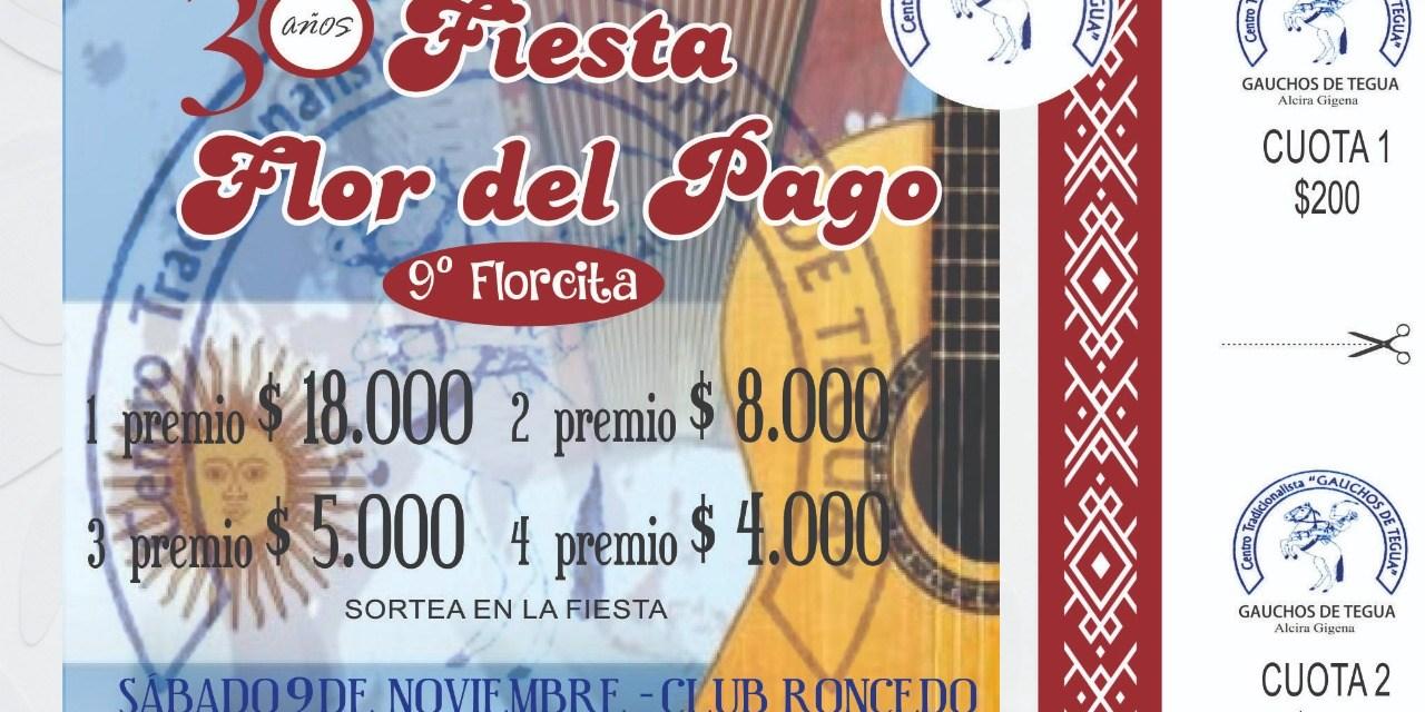 Fiesta La Flor del Pago en Alcira Gigena