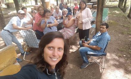 Los abuelos del Hogar de día cerraron actividades en Río de Los Sauces