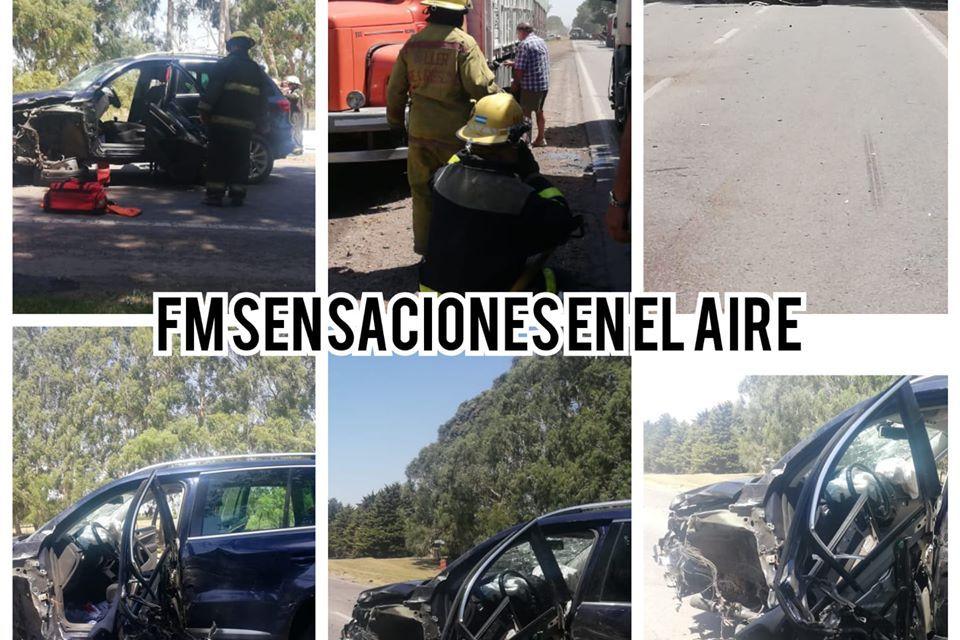 ACCIDENTE ENTRE CABRERA Y DEHEZA