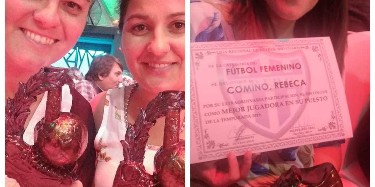Fútbol femenino de Ateneo reconocido por la Liga de Río Cuarto