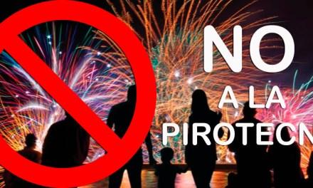En la ciudad está prohibida la venta y uso de Pirotecnia por ordenanza