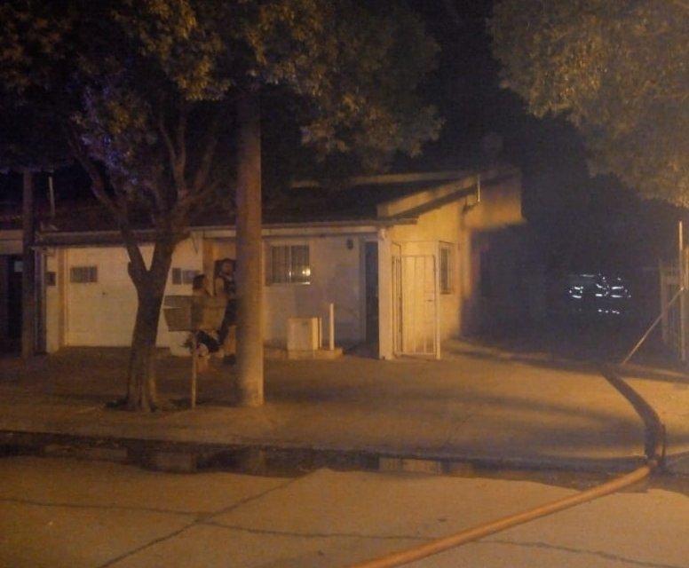 Deheza: Incendio en un departamento