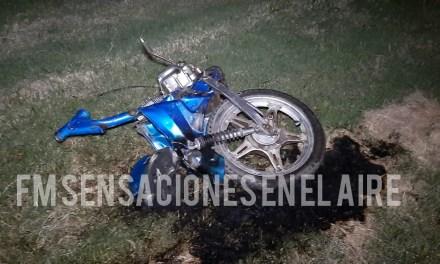ACCIDENTE FATAL- LA PERSONA FALLECIDA ES DE GRAL CABRERA –
