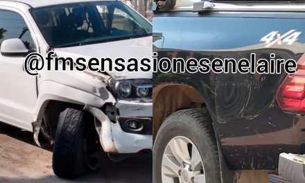 Accidente de tránsito – Colisionaron dos camionetas