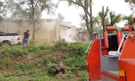 Carnerillo: Incendio en un galpón