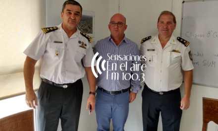 Visita de Jefes Departamentales al Municipio… además obras en la ciudad