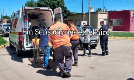 Accidente de tránsito en Bv. España esquina 20 de Septiembre