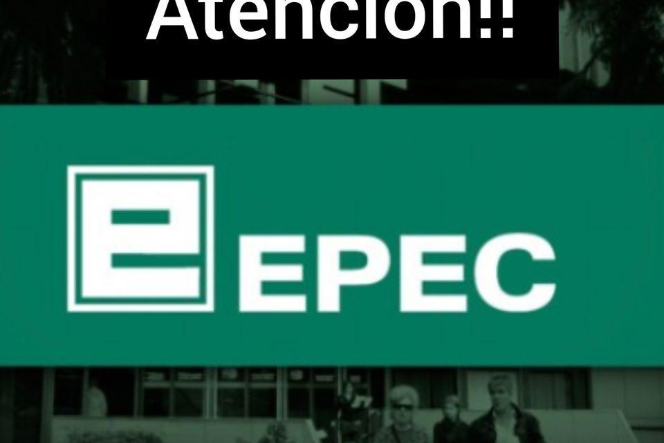 EPEC – Atención restringida y solo para algunos trámites