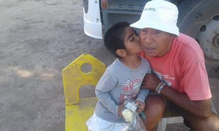 Cabrera Solidaria entregó donaciones en el Norte