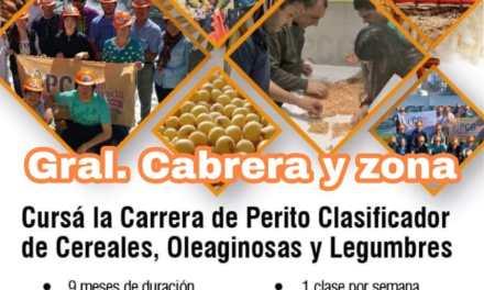 El IPEA auspiciará curso de Perito Clasificador de Cereales, Oleaginosas y Legumbres