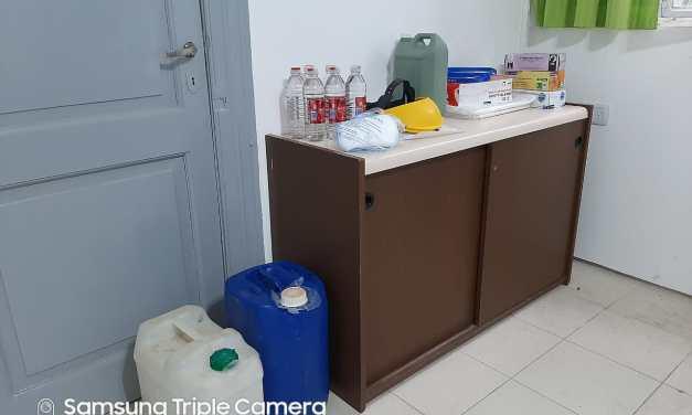 La Comisaría local recibió donaciones con elementos de higiene