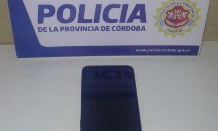 Cabrera: Secuestro de celular sustraído
