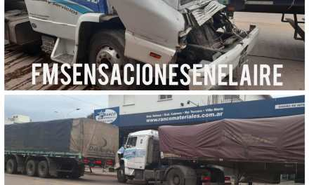 Deheza: Accidente simple por alcance