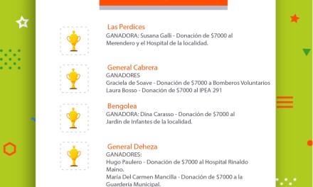 $7000 en mercadería para Bomberos e IPEA 291