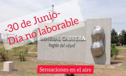 30 de Junio: Aniversario de la ciudad – «Día no laborable»