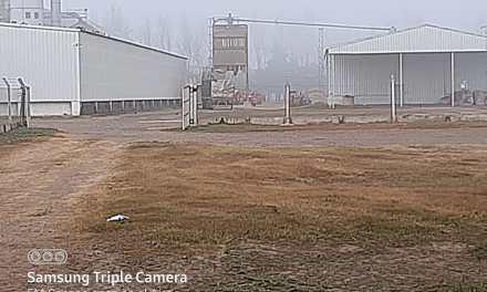 Principio de incendio en el interior de una planta de maní de Grupo Cavigliasso