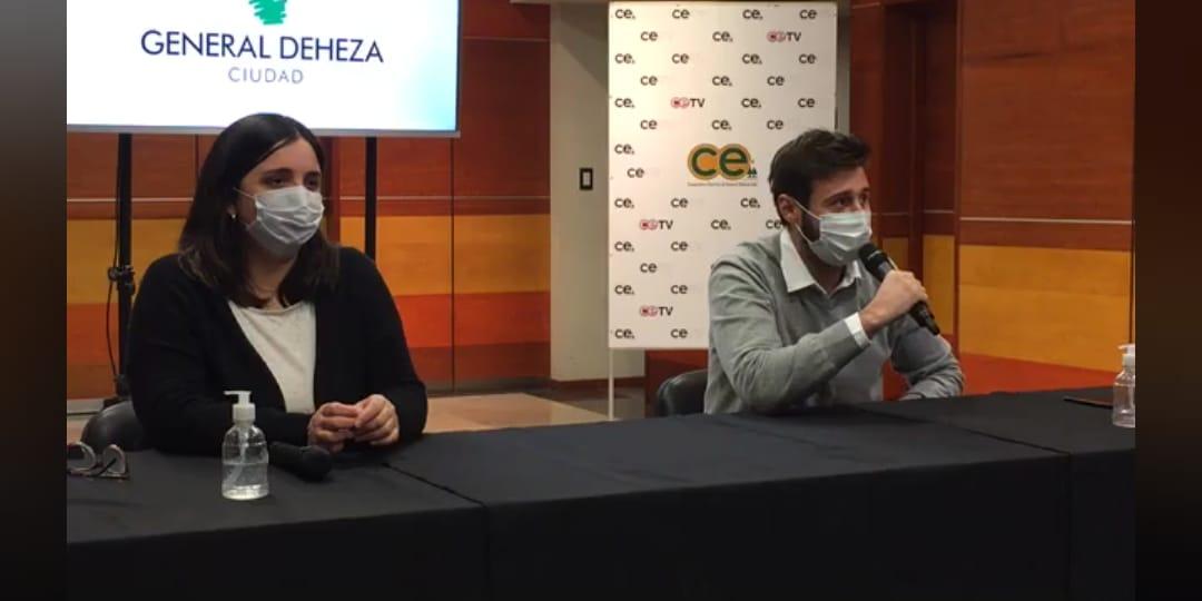 Deheza: los 17 hisopados dieron negativo