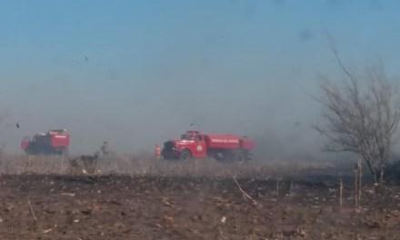 Carnerillo – Bomberos Voluntarios tuvieron tres salidas por focos de incendios