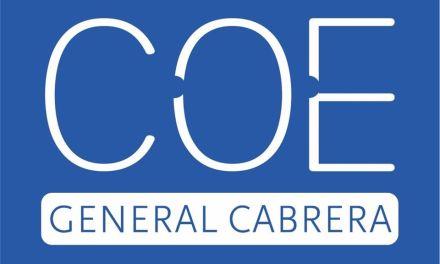 Mesas de trabajo del COE Gral Cabrera