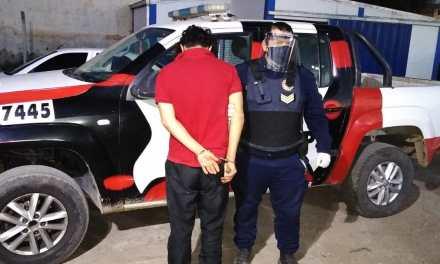 Cabrera: Amenazó con arma blanca a una mujer para robarle el celular