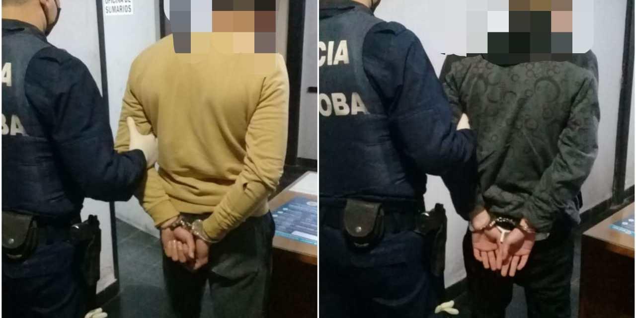 Las Perdices: Intentaron robar en una vivienda, fueron detenidos