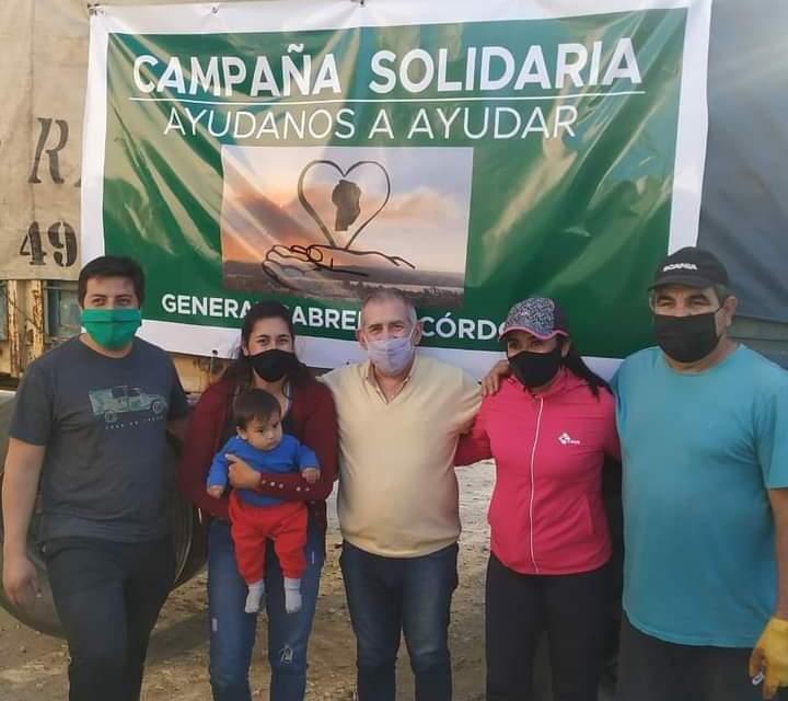 «Ayúdanos a ayudar»: La entrega de donaciones se concretó el fin de semana