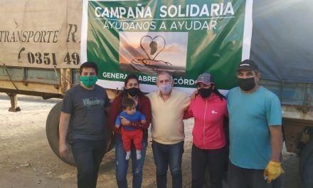 Familias de Cabrera llevaron donaciones para los animales afectados por los incendios