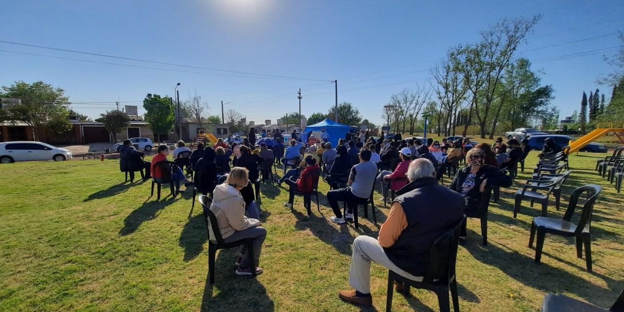 Test rápidos en barrio San Martín