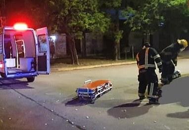 Deheza: fue identificado el motociclista que se fue del lugar del accidente